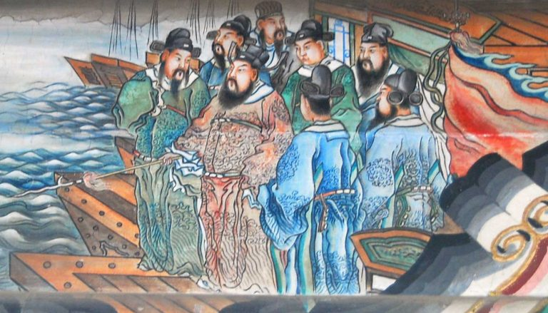 Tracing the Ancestry of the Chinese Emperor Cao Cao